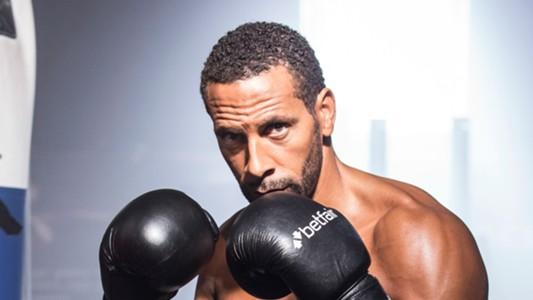 Rio Ferdinand Boxing
