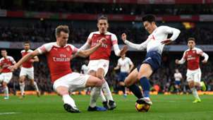 Heung Min Son Tottenham Arsenal 02122018