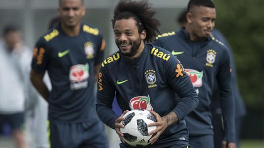 Marcelo Brasil treino Londres 05 06 18