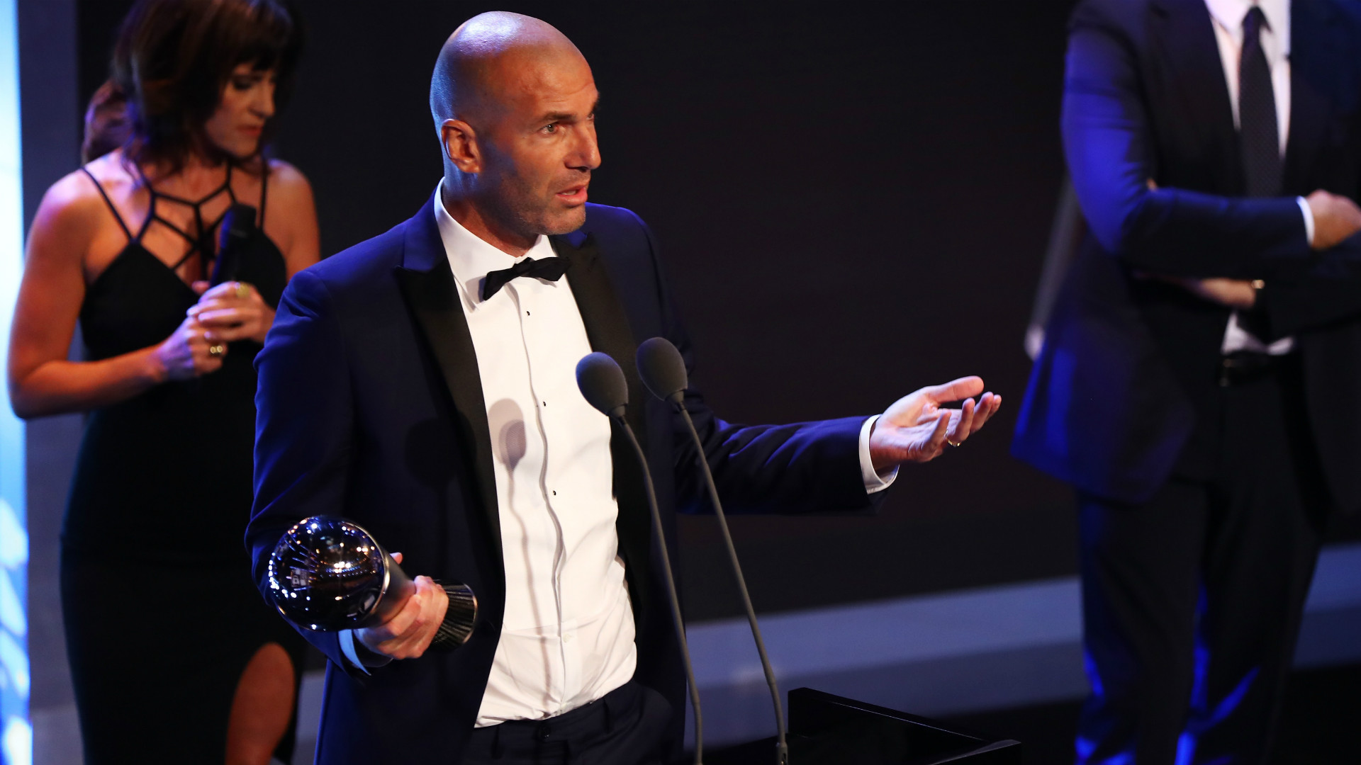 Zinedine Zidane FIFA Awards