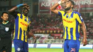 Matheus Alves, Mohamadou Sumareh, Pahang, Kelantan, Super League, 08/04/2017