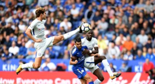 Marcos Alonso Chelsea Leicester City