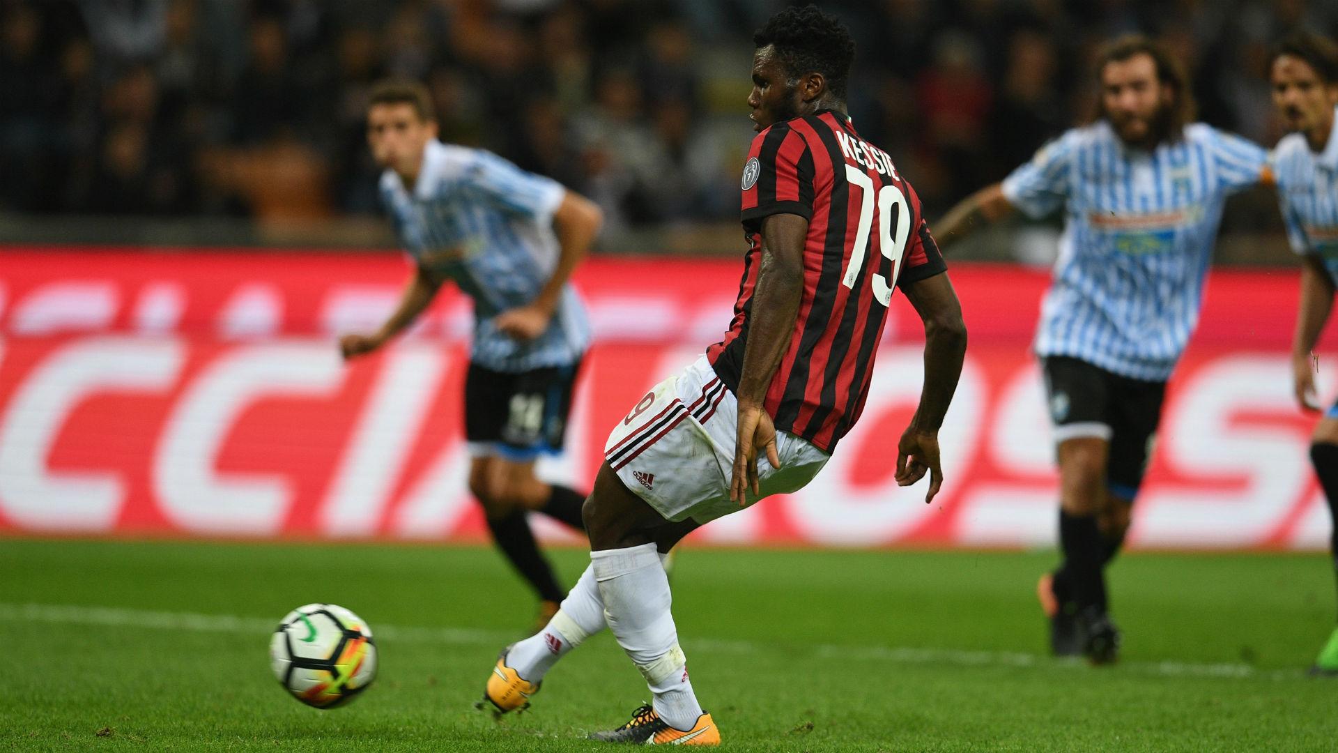 Milan-Spal 2-0, vittoria di rigore per i rossoneri