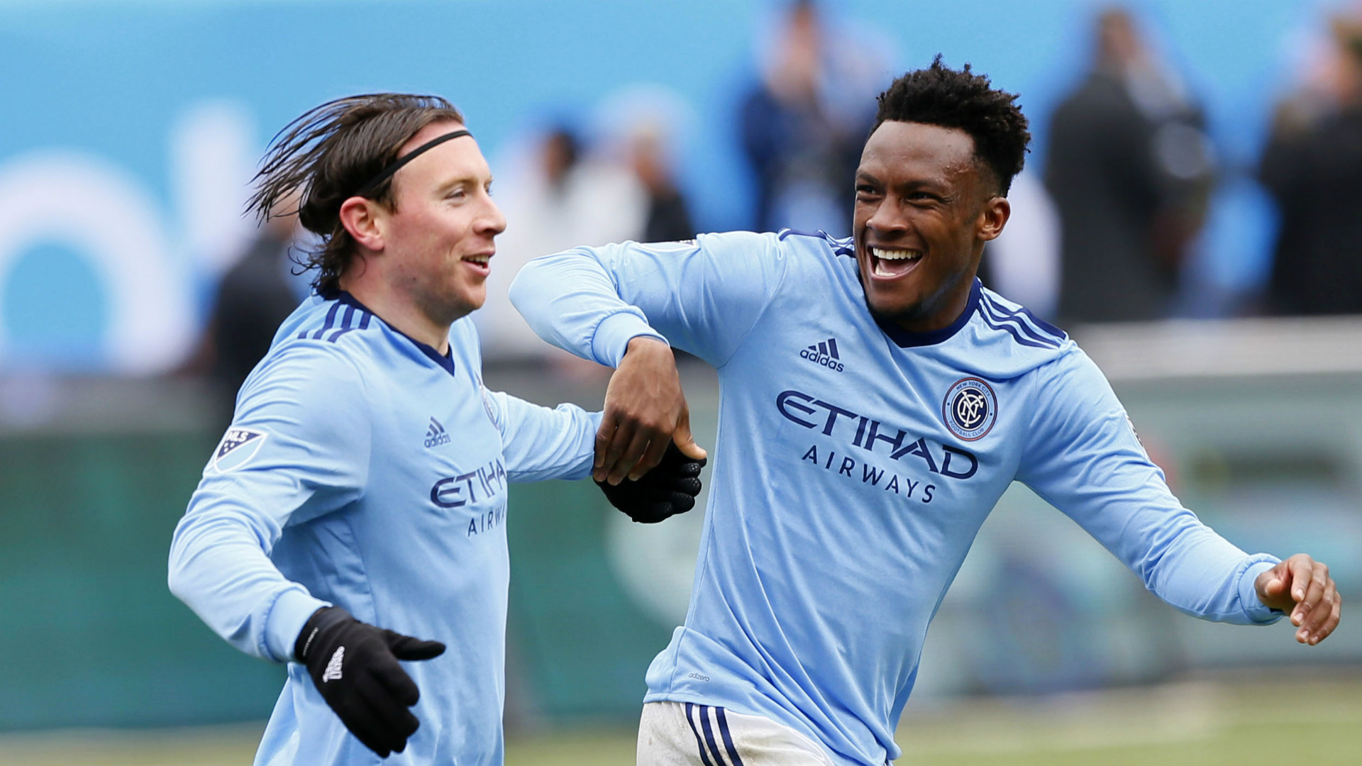Tommy McNamara Rodney Wallace New York City FC