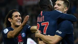 Edinson Cavani PSG Reims Ligue 1 26092018