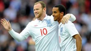 Theo Walcott Wayne Rooney