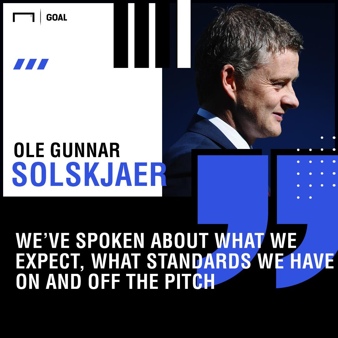 Ole Gunnar Solskjaer quote Manchester United
