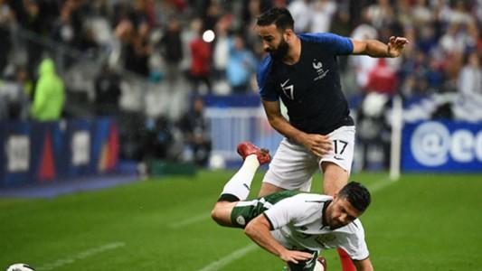 Adil Rami France Irlande