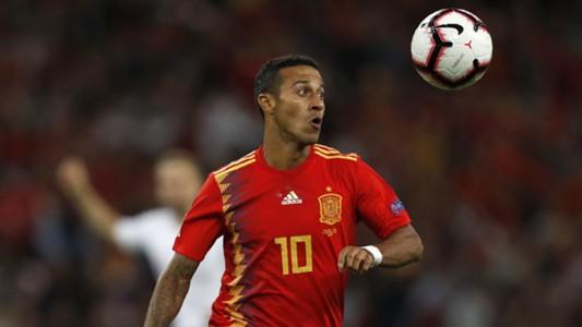 Thiago Alcantara Inglaterra España England Spain Nations League 08092018