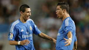 Angel Di Maria Cristiano Ronaldo Real Madrid