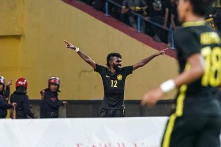 Thanabalan Nadarajah, Malaysia U22, SEA Games, 21082017