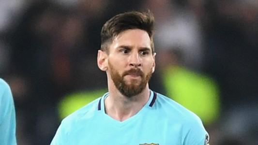 Lionel Messi Barcelona 2017-18