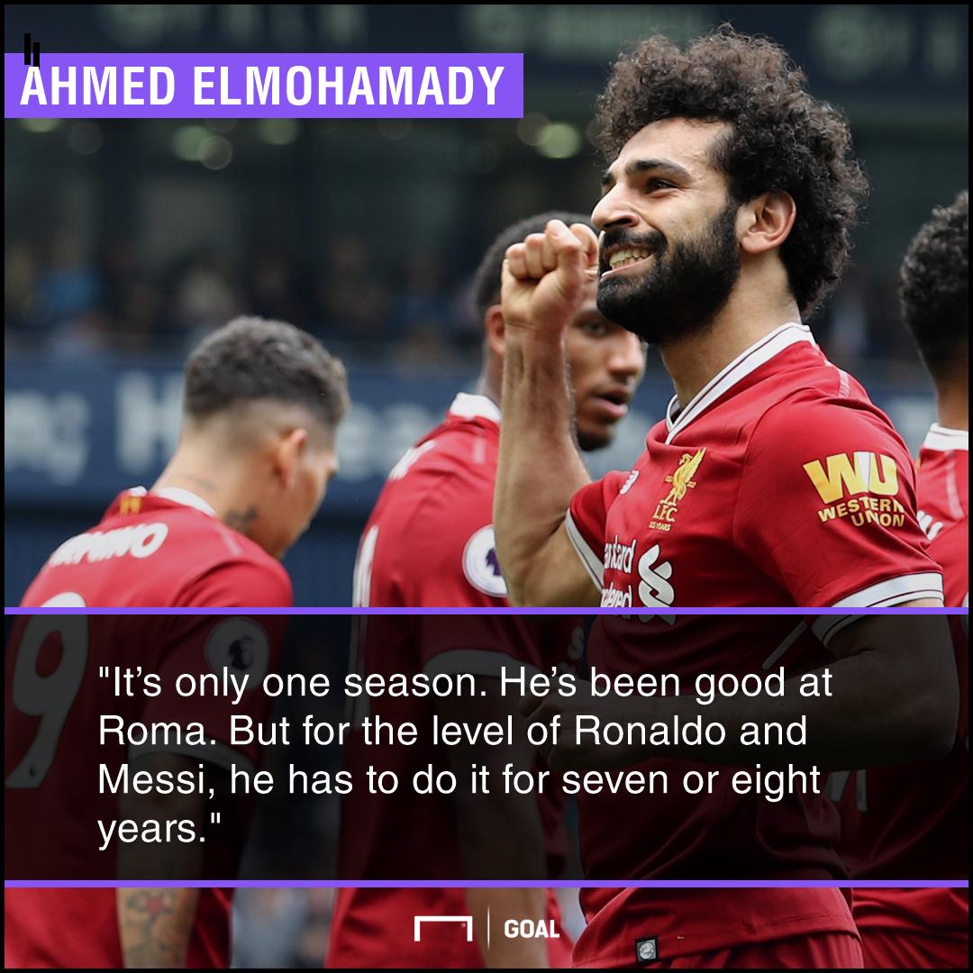 Mohamed Salah not Messi or Ronaldo yet Ahmed Elmohamady