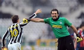 Del Piero Buffon Juventus