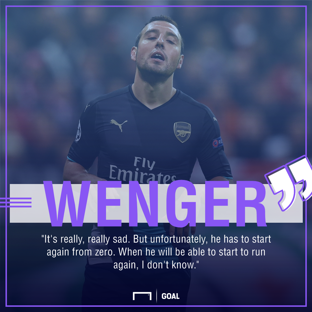 Santi Cazorla Arsene Wenger start from zero