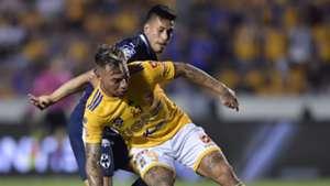 Eduardo Vargas Jesús Gallardo Tigres Monterrey Liga MX 2019