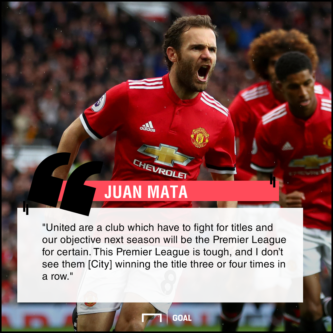 Juan Mata Manchester United challenge City won't dominate