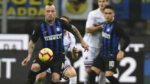 Radja Nainggolan Inter Sampdoria Serie A