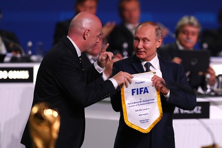 FIFA Russie Poutine