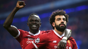 Mohamed Salah Sadio Mane Liverpool Champions League 2017-19