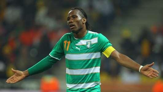 Didier Drogba Ivory Coast 2010 World Cup 25062010