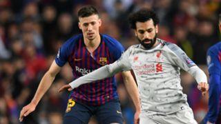 Clement Lenglet Mohamed Salah Barcelona Liverpool 010519