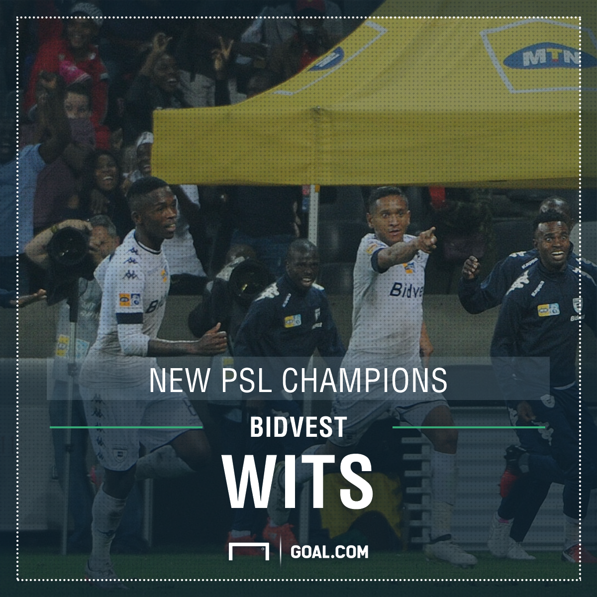 Bidvest Wits win PSL title - poster