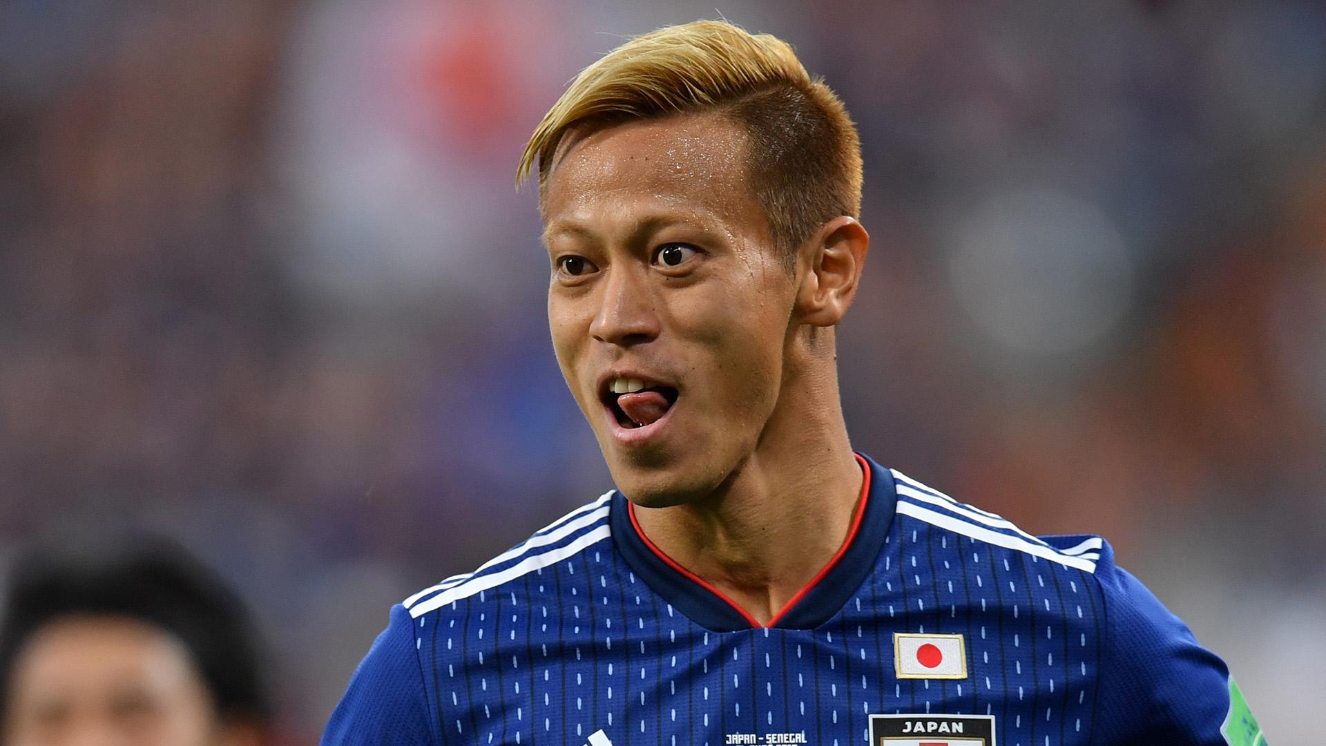 Keisuke Honda Japan Senegal World Cup 2018 240618