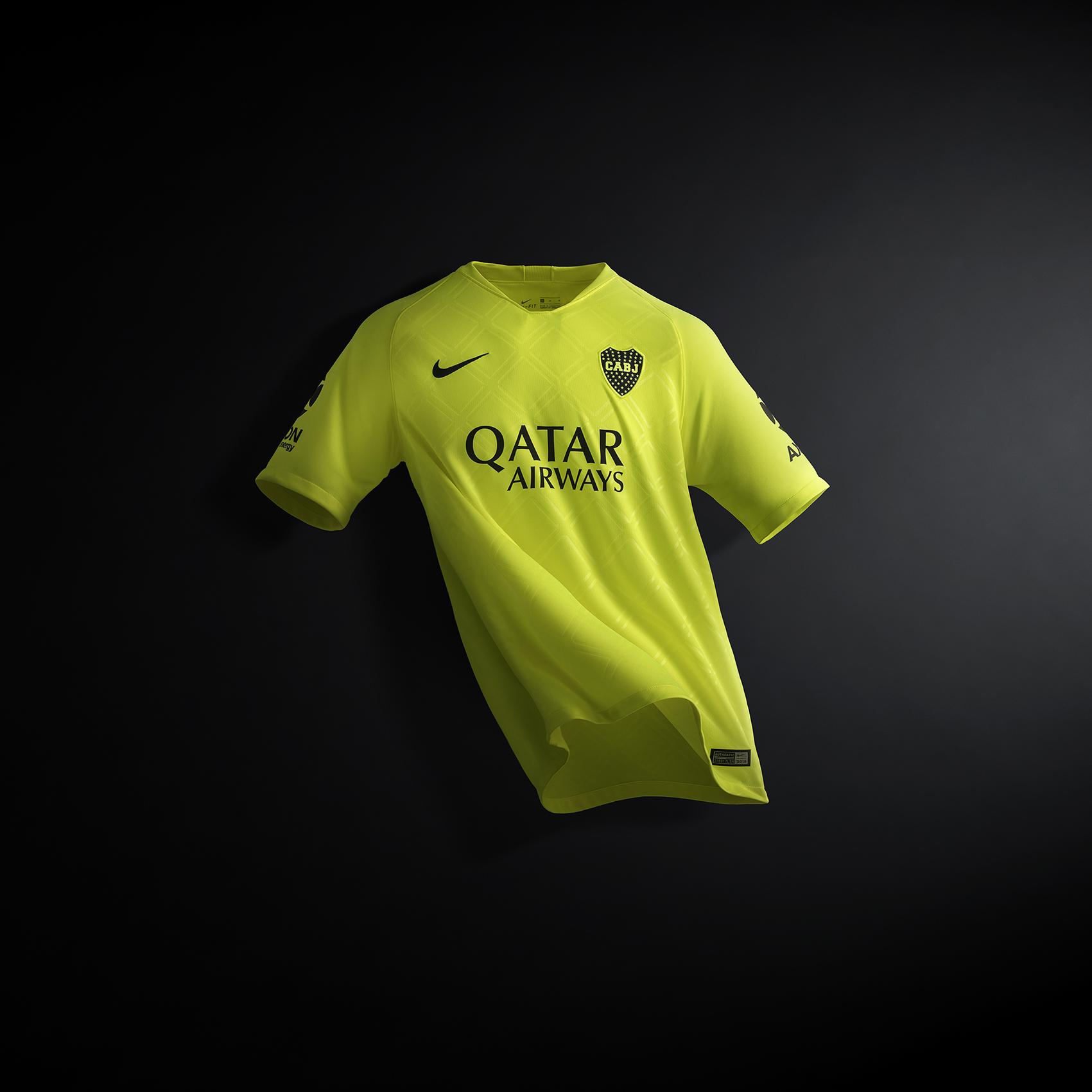 SIN CORTAR Camiseta Alternativa Boca 2018