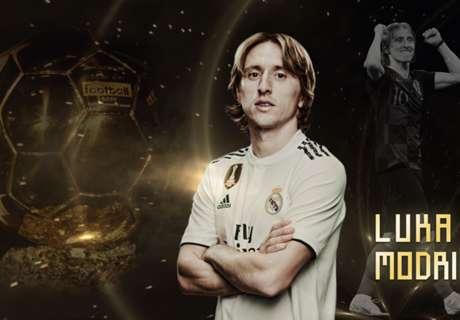 Live - Ballon d'Or 2018 : Modric 63e Ballon d'Or
