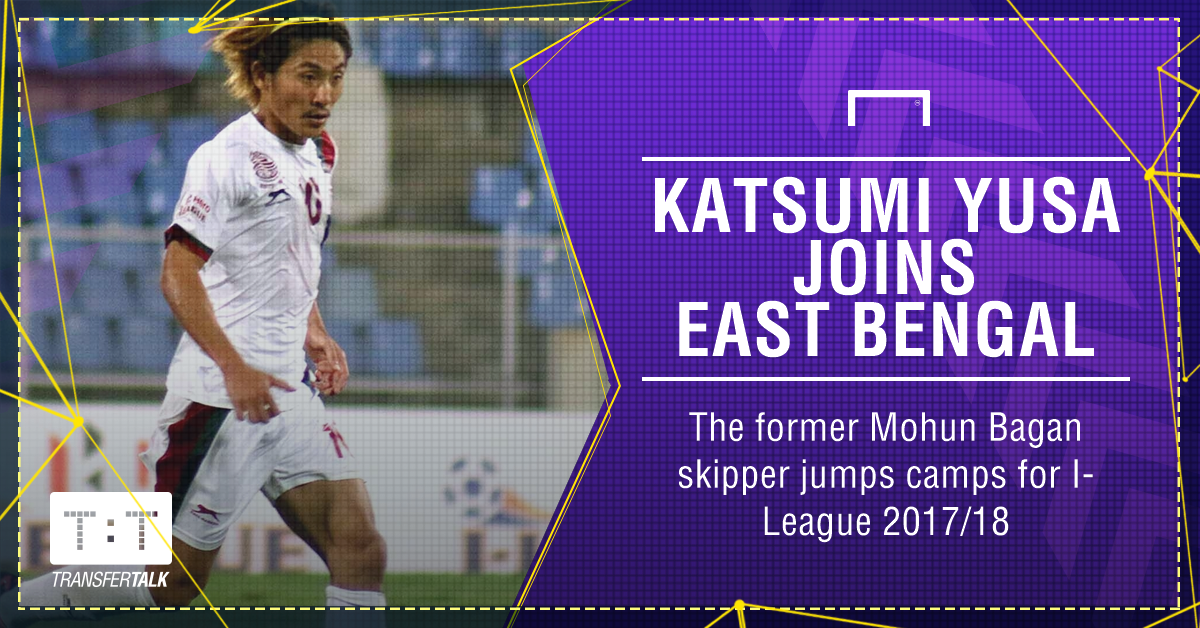 Katsumi Yusa East Bengal PS