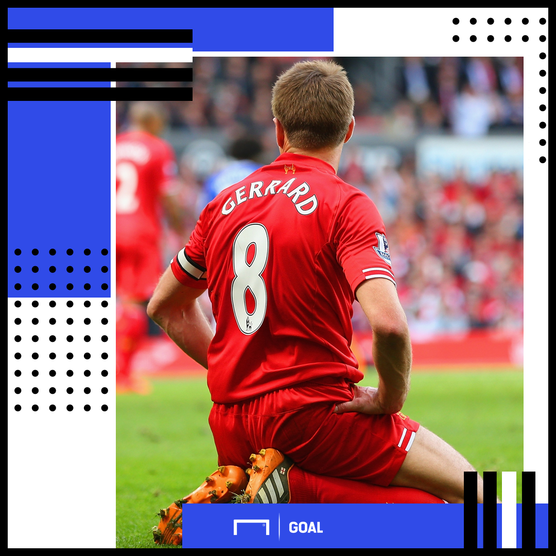 Steven Gerrard Liverpool PS