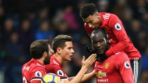 Manchester United Romelu Lukaku celebrate