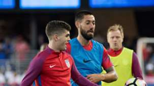 Christian Pulisic Clint Dempsey USA