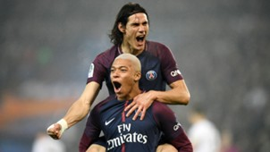Paris Saint-Germain Mbappe Cavani 20122017