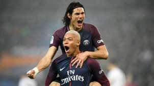 Paris Saint-Germain Mbappe Cavani 20122017