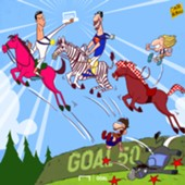 Goal 50 Cartoon