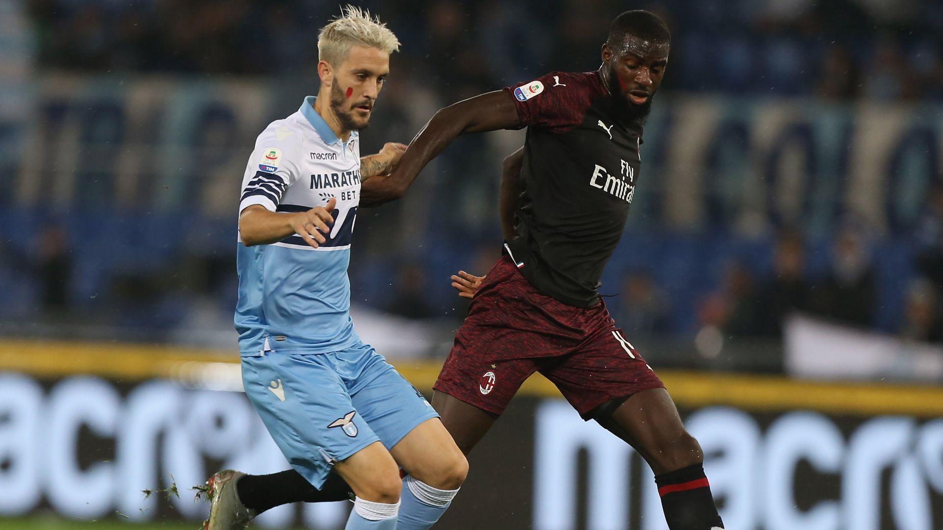 Luis Alberto Tiemoue Bakayoko Lazio Milan