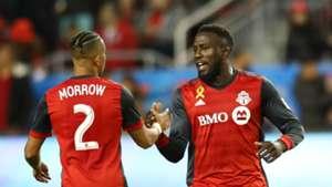 Jozy Altidore Justin Morrow Toronto FC MLS
