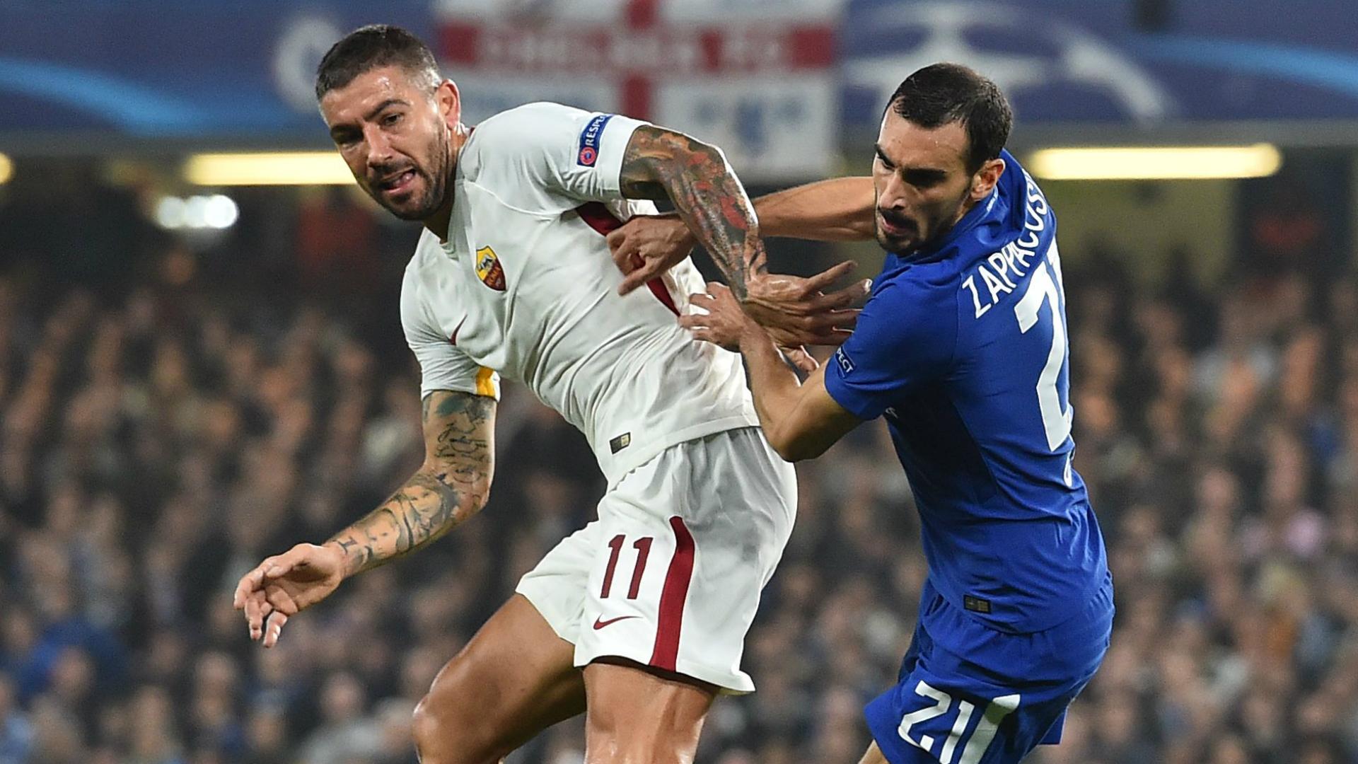 Kolarov Zappacosta Chelsea Roma Champions League