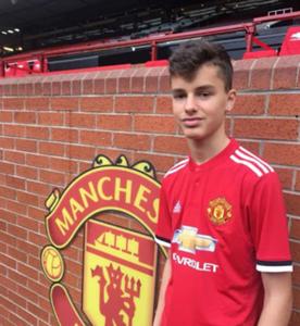 Rines Arifi Manchester United