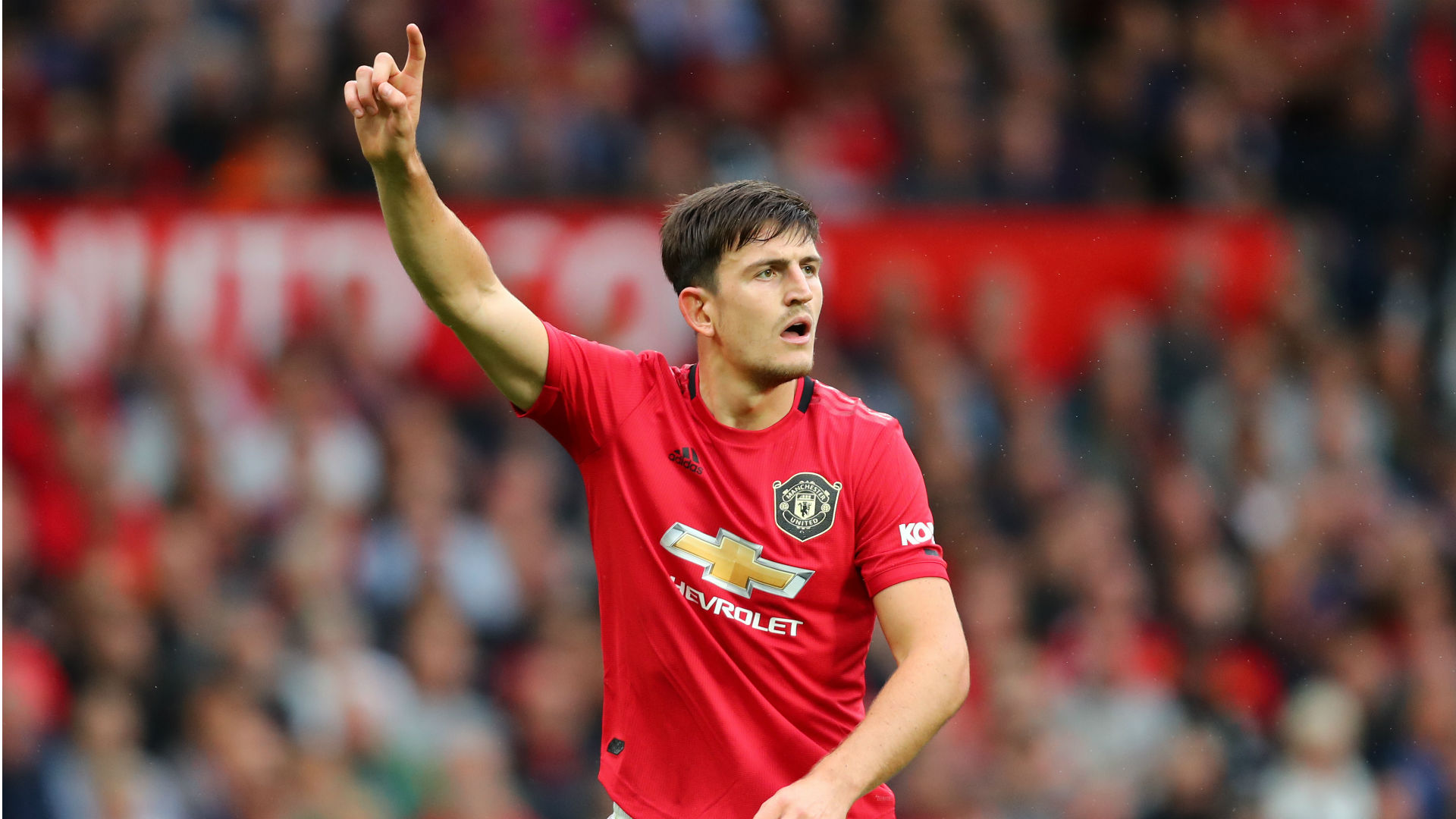 Harry Maguire Manchester United Chelsea Premier League 2019