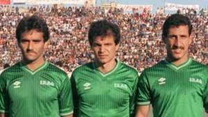 Bassel Kourkis Hussein Saeed Adnan Berjal Iraq 1986
