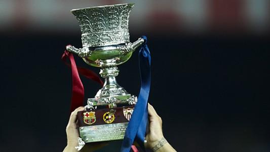 Supercopa Trophy Spanien