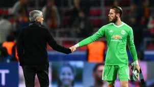 Jose Mourinho David de Gea Manchester United
