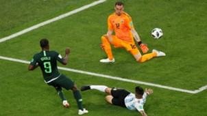 Armani Argentina Nigeria WC Russia 26062018