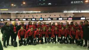 Morocco U20 women in Nigeria