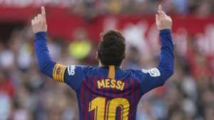 Lionel Messi Barcelona Sevilla