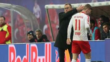 Ralf Rangnick Timo Werner RB Leipzig Bundesliga 18122018