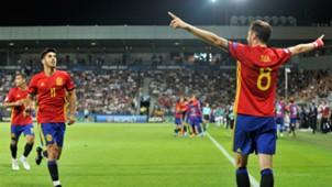 Saul Niguez Asensio Spai Italy European U21